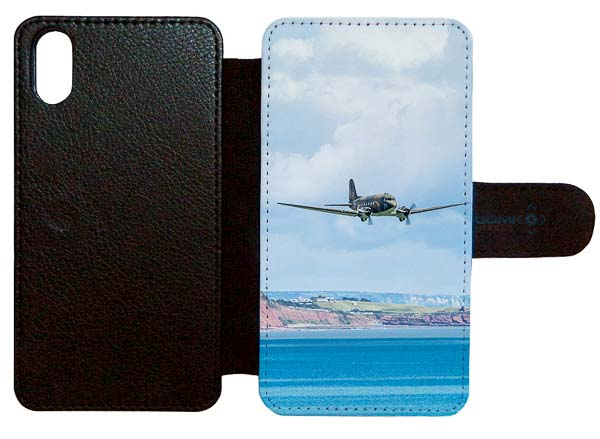 Dakota over the sea iphone x flip case