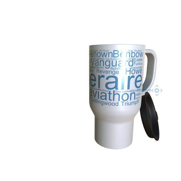 50003 Temeraire Word Art Travel Mug
