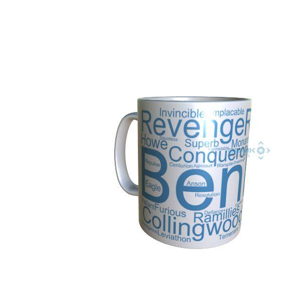50012 Benbow Word Art Mug