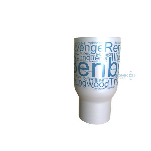 50012 Benbow Word Art Travel Mug