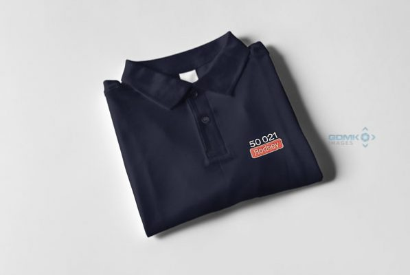 50021 Rodney Nameplate and Number Polo Shirt