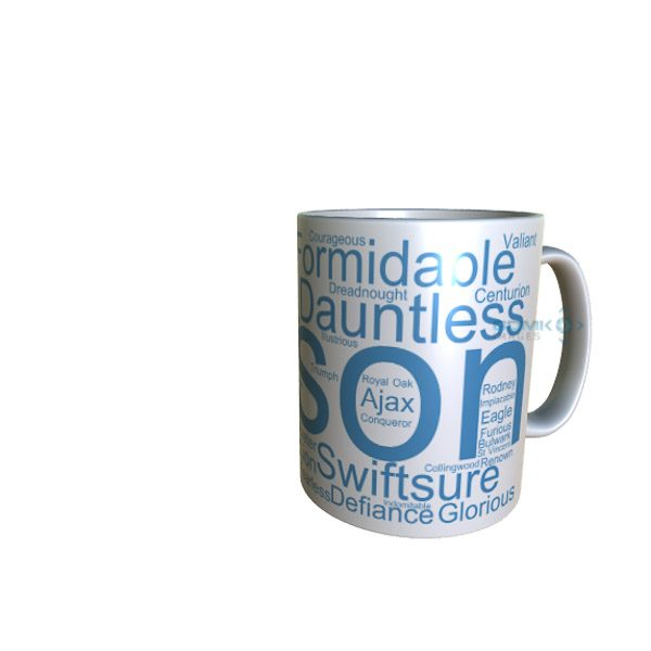 50022 Anson Word Art Mug