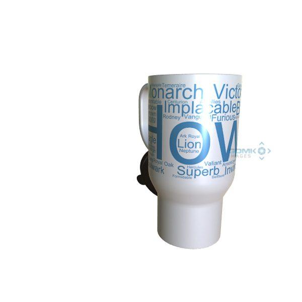50023 Howe Word Art travel Mug