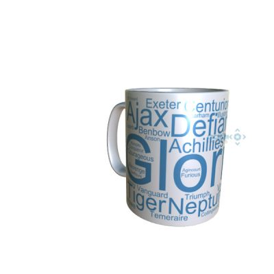 50033 Glorious Word Art Mug