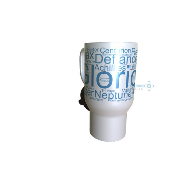 50033 Glorious Word Art travel Mug