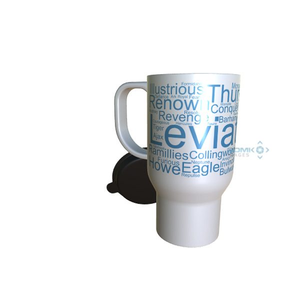 50040 Leviathon Word Art Travel Mug