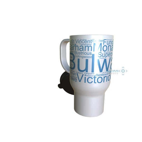 50041 Bulwark Word Art Travel Mug