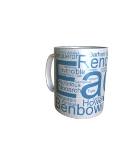 50043 Eagle Word Art Mug