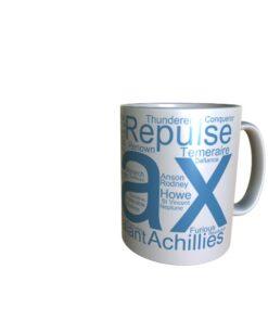 50046 Ajax Word Art Mug