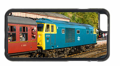 Class 35 Hymek D7076 at Bewdley Mobile Phone Case