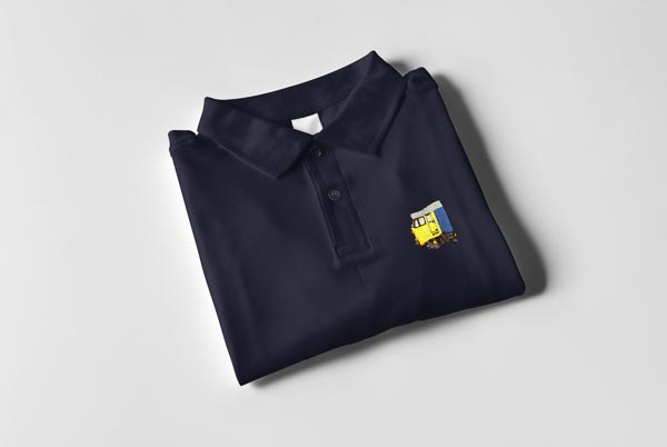 Class 50 Large Logo Cab Polo Shirt