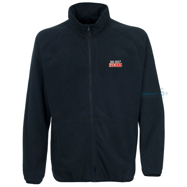 Class 55 55007 Pinza Number and Nameplate Fleece Navy Blue