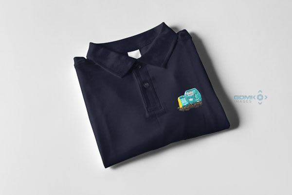 Class 55 Deltic Cab Polo Shirt