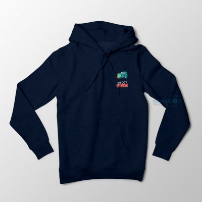 Class 55 Number and Nameplate with Cab Hoodie Navy Blue 2
