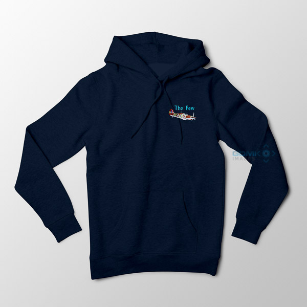 Hawker Hurricane The Few Hoodie Navy Blue
