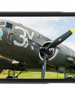 USAAF C47 Dakota Drag em Oot Mobile Case