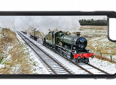 Witherslack Hall in the Snow Mobile Phone Case