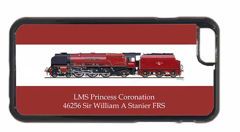 46256 Sir William A Stanier FRS iPhone 6 Mobile Phone Case
