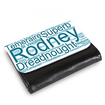 50021 Wordart Medium Wallet