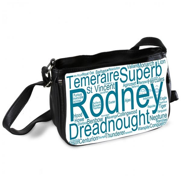50021 Wordart Messenger Bag