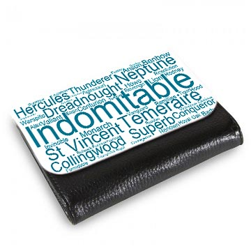 50026 Wordart Medium Wallet