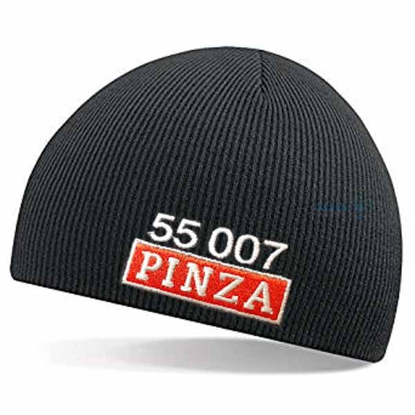 55007 Pinza Number and Nameplate Beanie Hat