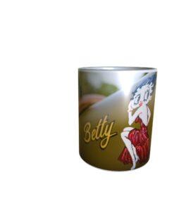 Betty On A Harley Mug