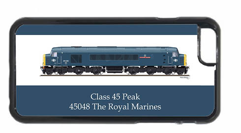 Class 45 45048 iPhone 6 Mobile Phone Case