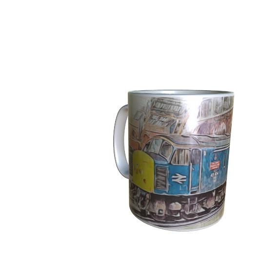 Class 45 45104 Digital Art Mug