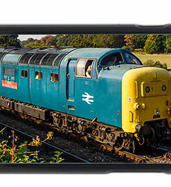 Class 55 55019 Approaching Arley iPhone 6 Mobile Phone Case