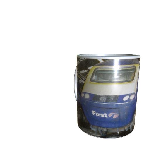 Digital Art HST Class 43 Mug