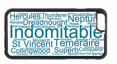 Indomitable Word Art iPhone 6 Mobile Phone Case