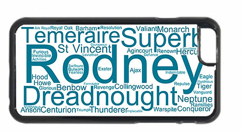 Rodney Wordart iPhone 6 Mobile Phone Case
