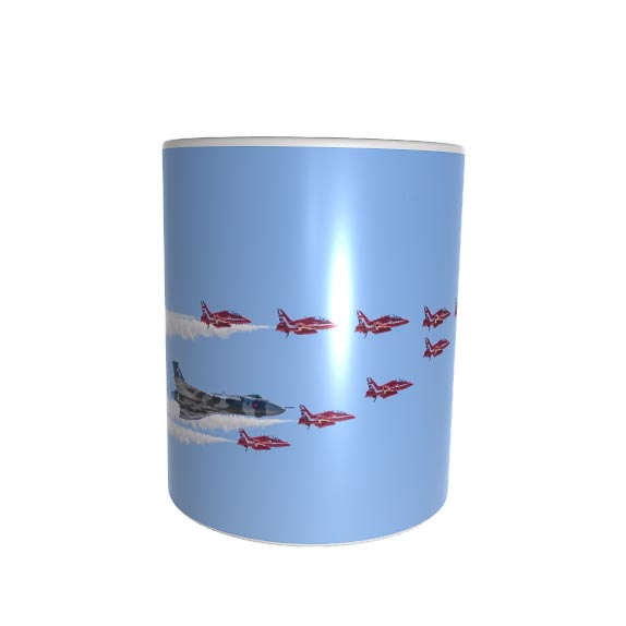 Vulcan and Red Arrows Mug