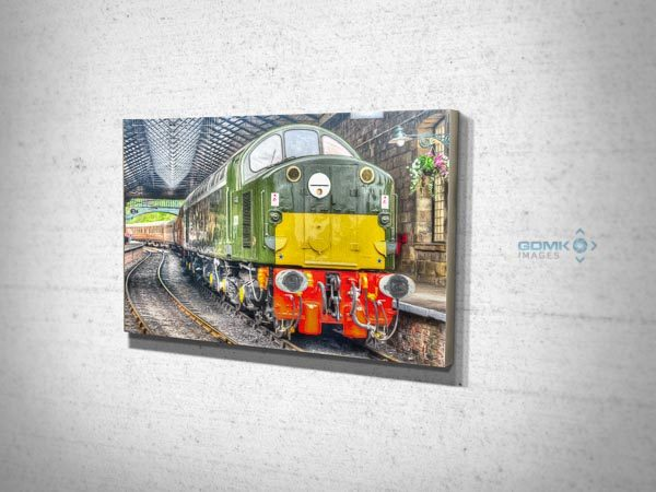 Class 40 D213 Pickering Digital Art Canvas Print