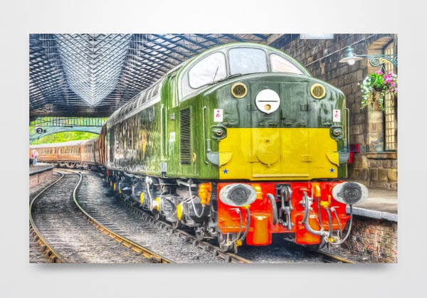 Class 40 D213 Pickering Digital Art Print