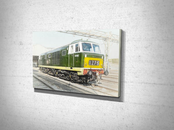 Class 35 D7017 Hymek Digital Art Canvas Print