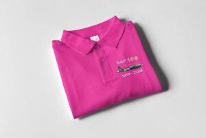 RAF 100 Anniversary Pink Wellington polo