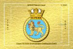Class 50 50th Anniversary Collectors Card - 50002 Superb Shiny Crest Card