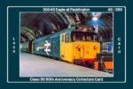 Class 50 50th Anniversary Collectors Card - 50043 Eagle Card