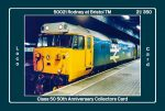 Class 50 50th Anniversary Collectors Card - 50021 Rodney Card