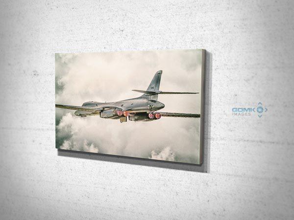USAF B1 Bomber Canvas Print
