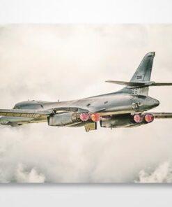 USAF B1 Bomber Wall Art Print