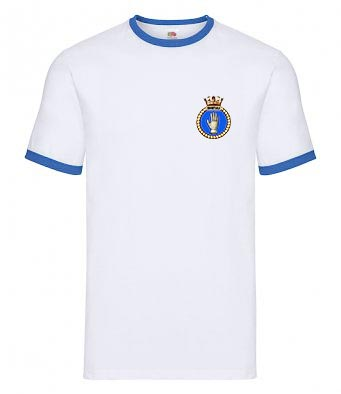 50026 Indomitable Crest White T-Shirt
