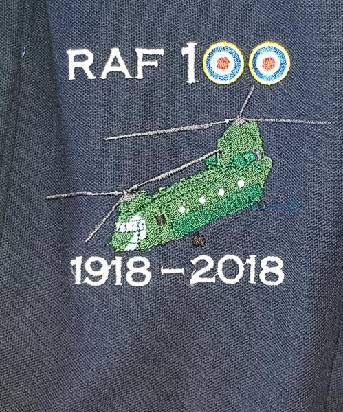 RAF 100 Chinook