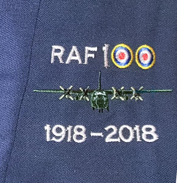 RAF 100 Anniversary Embroidered Fleece Jackets