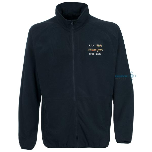 RAF 100 Lancaster Fleece Navy Blue