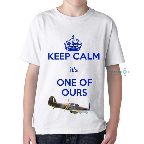 Keep Calm its one of ours t-shirt white
