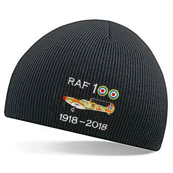 RAF 100 Spitfire Beanie Hat