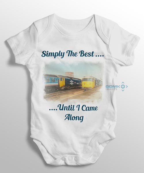 Simply The Best Baby Grow